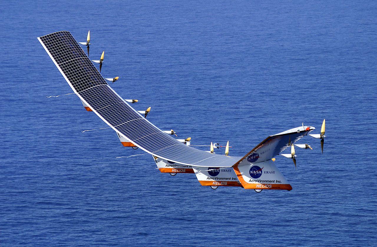 Helios NASA Avião